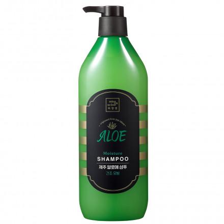 Шампунь для воосся з алоє  вера Mise en Scene JeJu ALOE Moisture Shampoo 780мл.