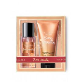 Міні набір Victoria's Secret Bare Vanilla Спрей 75 мл.+лосьйон 75 мл
