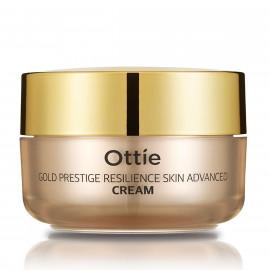 Антивіковий крем для пружності шкіри обличчя Ottie Gold Prestige Resilience Advanced Cream 50 мл