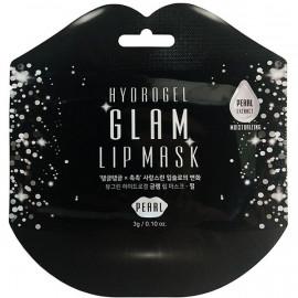 Гідрогелеві патчі для губ з перлами Beauugreen Hydrogel Glam Lip Mask Pearl 3мл