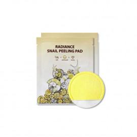 Двостороння пілінг-серветка з муцином равлика SeaNtree Radiance Snail Peeling Pad 1шт.