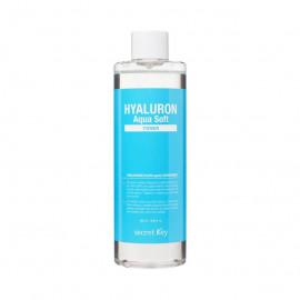 Secret Key Hyaluron Aqua Soft Toner тонер для обличчя з гіалуроновою кислотою 500мл.