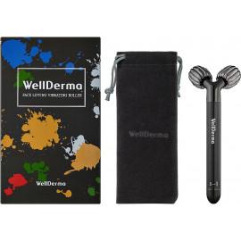 Роликовий вібромасажер для обличчя  WellDerma Face Vibration Roller