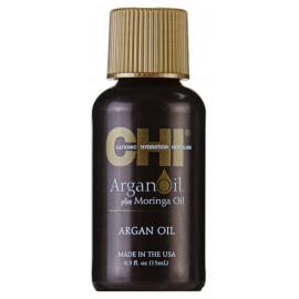 Відновлювальне масло для волосся CHI Argan Oil plus Moringa Oil 15 мл.