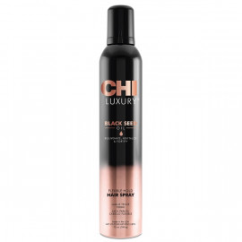 Лак для волосся рухливої фіксації CHI Luxury Black Seed Oil Flexible Hold Hairspray  340 мл.