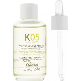 Лосьйон для глибокого очищення шкіри головиKaaral К 05 Pre Treatment Peeling   50 мл.