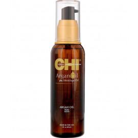 Відновлювальне масло для волосся CHI Argan Oil plus Moringa Oil  89 мл.