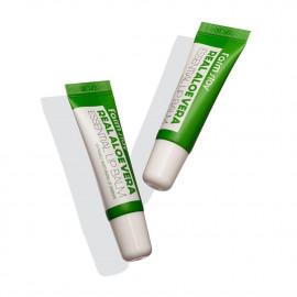 FarmStay Real Aloe Vera Essential Lip Balm - бальзам для губ з алое вера
