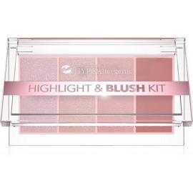Палетка для макіяжу Bell Cosmetics HypoAllergenic Highlight & Blush Kit  №: 01