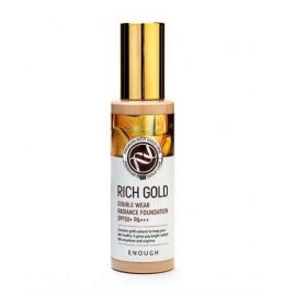 Тональний крем для обличчя з колоїдним золотом ENOUGH Rich Gold Double Wear Radiance Foundation №13  100мл.