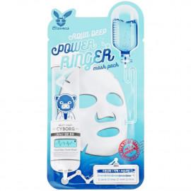 ELIZAVECCA Маска тканинна Face Care Aqua Deep Power Ringer Mask зволожуюча для сухої шкіри