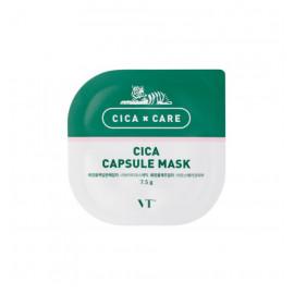 Очищаюча маска на основі каоліну та центели VT Cosmetics Cica Capsule Mask 7,5г