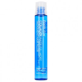 FARMSTAY COLLAGEN WATER FULL MOIST TREATMENT HAIR FILLER Зволожуючий філлер з колагеном для волосся 13мл.