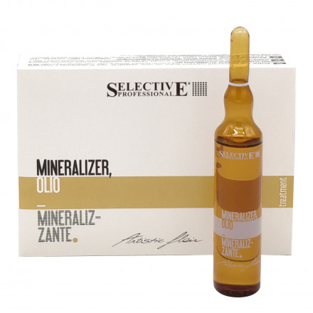Мінеральне масло Selective Professional Mineralizer Oil  10мл.*60шт.